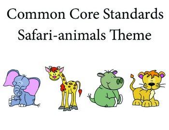 Safarianimalselephant 1st grade English Common core standa
