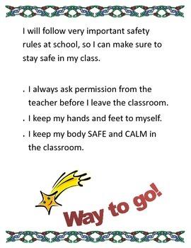 Safe Behavior at School