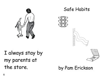 Safe Habits- a non-fiction guided reading book