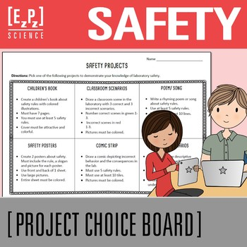 Safety Project Choice Board