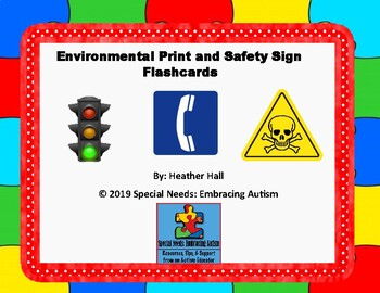 Safety Sign Flash Cards