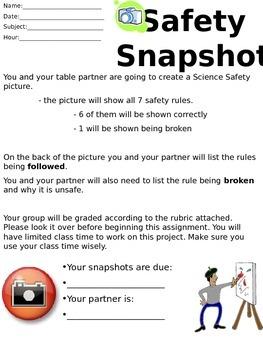 Safety Snapshot - Lab Safety Activity
