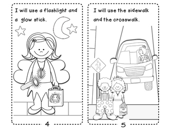 Safety Tips for Trick or Treating/ Easy Reader