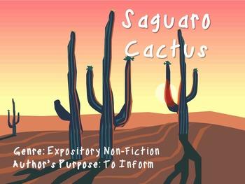 Saguaro Cactus - Skills Power Point
