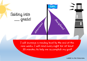 Sailing into ____Grade! - By Leader in the Classroom