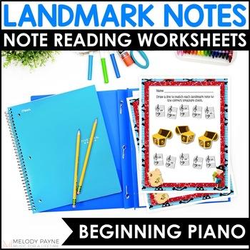 Landmark Note Worksheets {Sailing the C's}