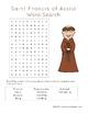 Saint Francis of Assisi Printables Activity Packet