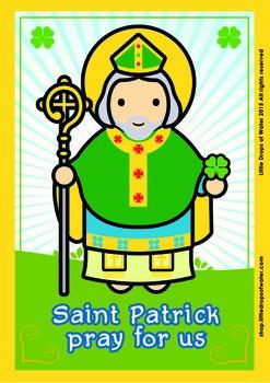 Saint Patrick Poster - Catholic