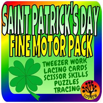 St Patrick's Day Fine Motor