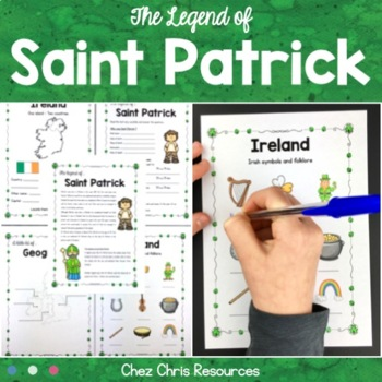 Saint Patrick's Day: Ireland / Symbols & the legend of Sai
