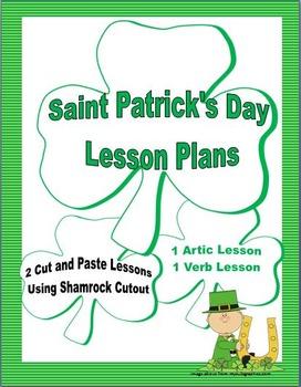 Saint Patrick's Day Lesson Plans : Articulation & Verb Ide