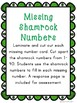 Saint Patrick's Day Math Center-- Missing Number