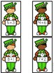 Saint Patrick's Day Math Center-- Shamrock Addition Bingo