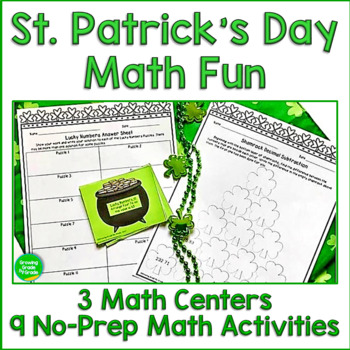 Saint Patrick's Day Math Worksheets Fun
