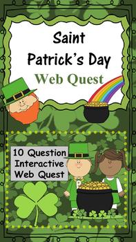 Saint Patrick's Day Web Quest