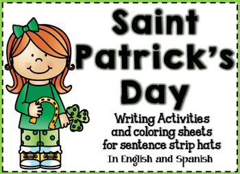 Saint Patrick's Day Writing Activities in English and Spanish