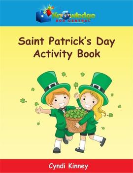 Saint Patrick's Day Interactive Activity Book - EBOOK
