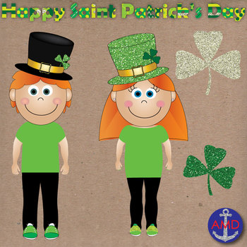 Saint Patrick's Day Clip Art & Kids