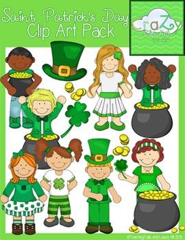 Saint Patrick's Day Clip Art Pack {CraZy Clip Art}