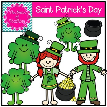 Saint Patrick's Day Clipart Set