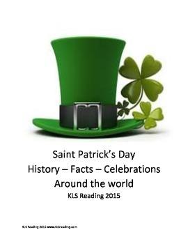 Saint Patricks Day - History Facts Article Questions Vocab