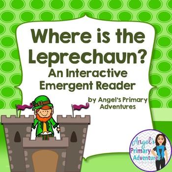 Saint Patrick's Day Interactive Emergent Reader