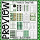 Saint Patrick's Day Kids -  Math and Literacy Centers