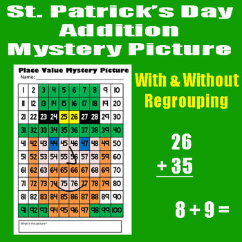 Saint Patrick's Day Leprechaun Addition With & Without Reg