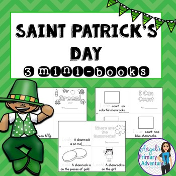 Saint Patrick's Day Themed Emergent Readers - 3 mini-books