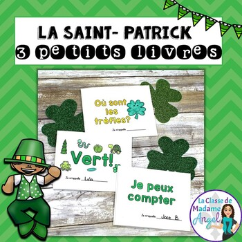 Saint Patrick's Day Themed Emergent Readers in French - 3