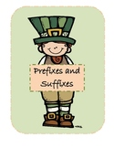Saint Patty's Day Prefix/Suffix