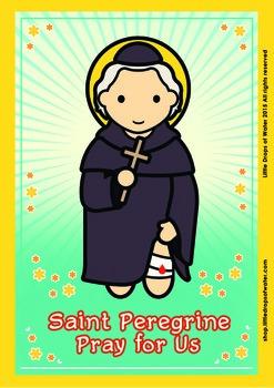 Saint Peregrine Poster - Catholic