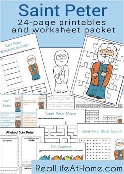 Saint Peter Activities Printable Packet