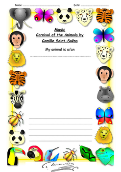 Saint-Saens and the Carnival of the Animal