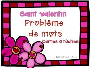 La résolution de problème : La Saint Valentin