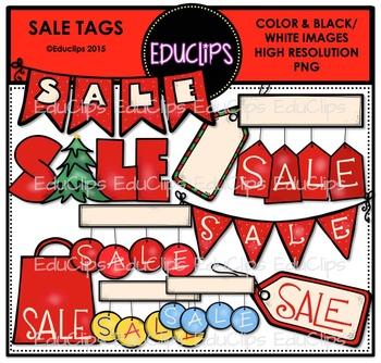 Sale Tags Clip Art Bundle