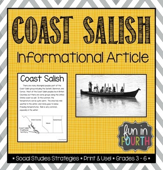 Salish: Aboriginal Cultures Informational Article