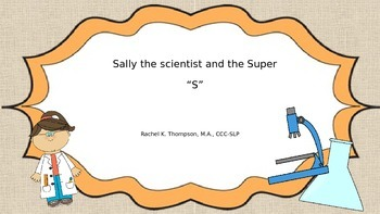 "Sally Scientist ""S"""
