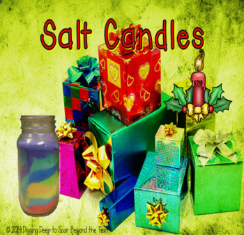 Salt Candles ~ Christmas Craftivity