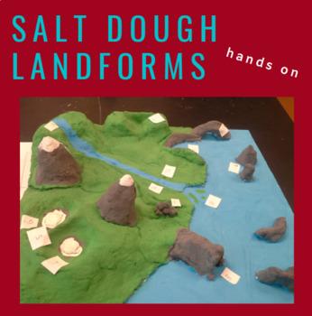 Salt Dough Landforms Model - Weathering, Erosion, Depositi
