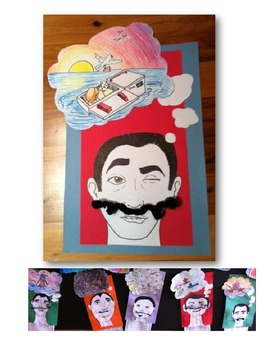 Salvador Dali Mustache Elementary Visual Arts or Arts Inte