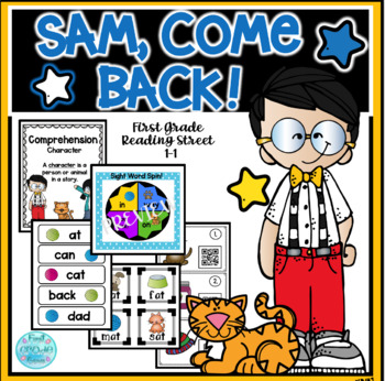 Sam, Come Back!  Reading Street Resources