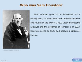 Sam Houston - Famous Texan - Facts