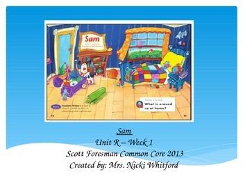 """Sam"" (Instructional Guide for Unit R, Week 1 Reading Stre"