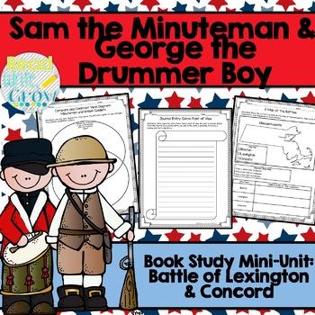 Sam the Minuteman & George the Drummer Boy