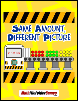 Same Amount, Different Picture (Divisibility Rules Activity)