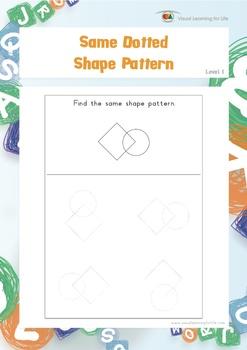 Same Dotted Shape Pattern