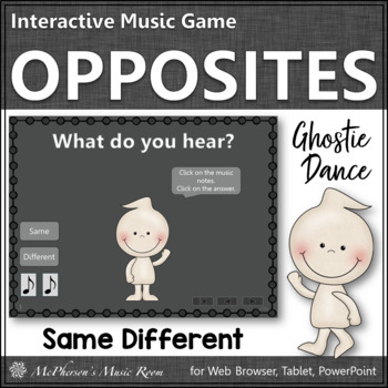 Same vs Different - Ghostie Dance Interactive Music Game {form}