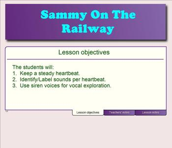 Sammy On The Railway - (A Vocal Exploration Game/Activity)