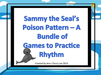 Sammy the Seal's Poison Pattern - A Bundle of 4 Games to P